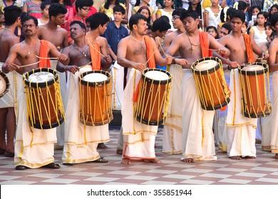 Imágenes, fotos de stock y vectores sobre Drum Kerala   Shutterstock