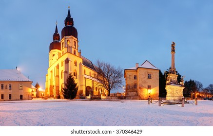 Trnava church, Slovakia, panorama