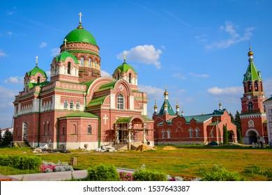 Troekurovsky Monastery in the Lipetsk region