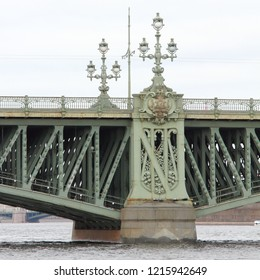 Troitsky Bridge Abutment 1897Design