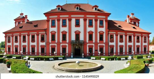 Troja chateau at prague - Czech republic