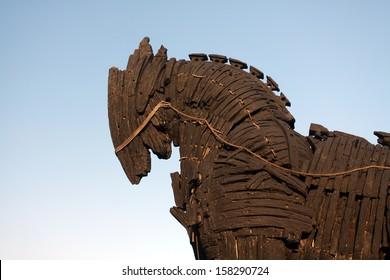 Trojan Horse in Canakkale ,Turkey.
