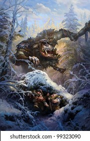 Troll and dwarfs