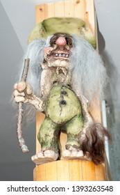 A troll figure in nordkapp