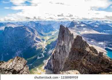 The Troll Wall in Romsdal, Norway