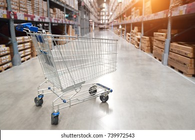 trolley with blur image background