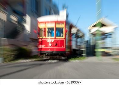 Trolley Motion Shot