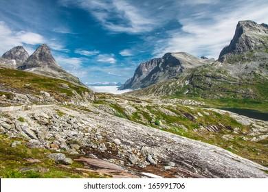 Trollstigen (Troll's road) Norway