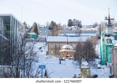TROMSO NORWAY: Tromso is a city and municipality in Troms county, Norway on April 2017