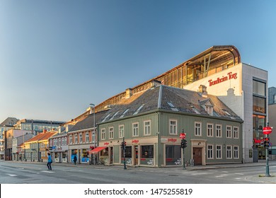 The Trondheim Torg shopping mall in Trondheim, Norway.