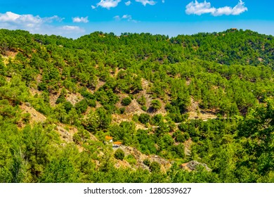 Troodos mountains on Cyprus - Shutterstock ID 1280539627
