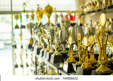 Trophy award show your success on the office.
