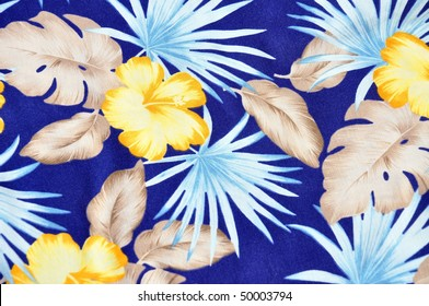 Tropical background pattern