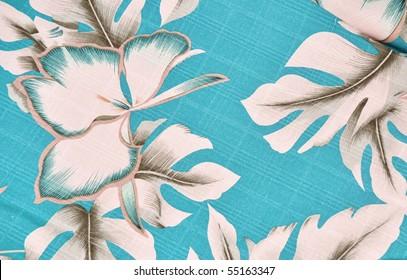 Tropical background pattern / design