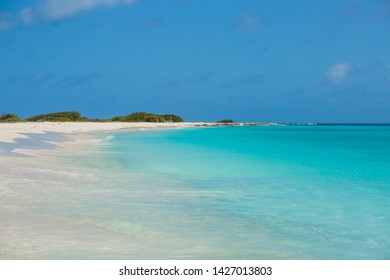 Tropical beach background in Curacao