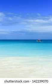 Tropical Beach and Caribbean sea