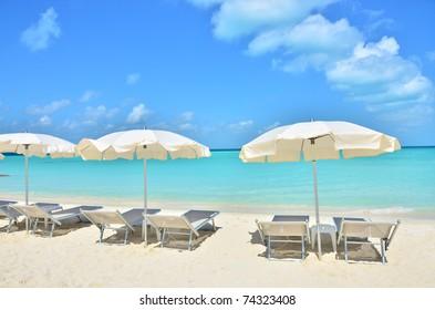 Tropical beach (Isla Mujeros, Mexico)