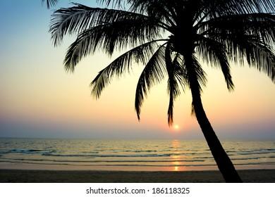 Tropical beach. Koh Chang, Thailand