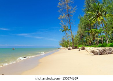 Tropical beach of Koh Kho Khao island in Thailand