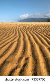 tropical beach north of Cairns, Queensland, Australia