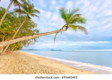 A tropical beach in North Queensland, Australia