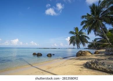 Tropical beach on Koh Phangan Island,Thailand