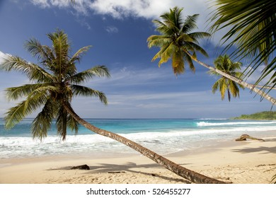 Tropical beach paradise Sumatra island