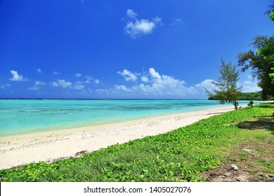 Tropical Beach (Saipan, Northern Mariana Islands)