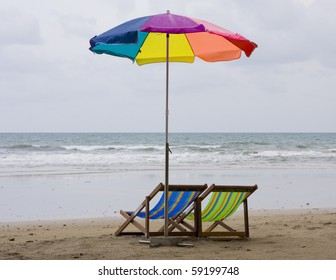 Tropical beach in Thailand.