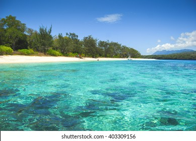 Tropical beaches on Jaco island in East Timor