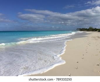 Tropical caribbean beach of Turks and Caicos