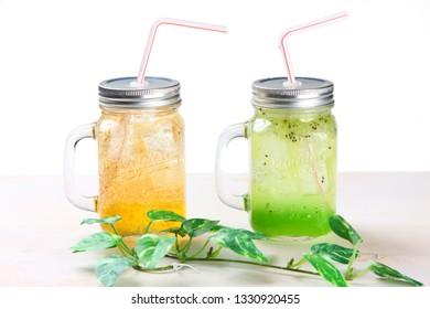 tropical fruit drinks