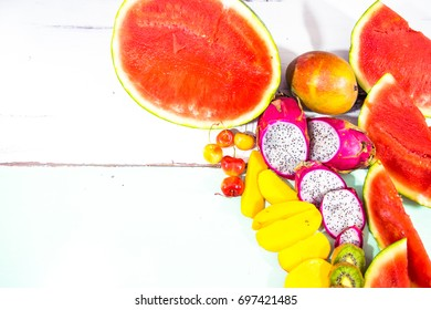Tropical Fruit , Healthy Choices for Snacks in Summer
