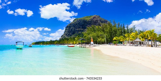 Tropical holidays in beautiful exotic Mauritius island