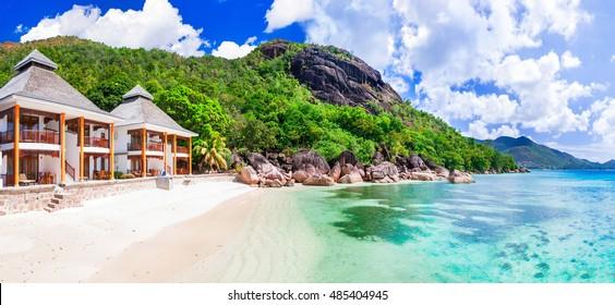 Tropical holydays in Paradise - Seychelles island, Praslin island