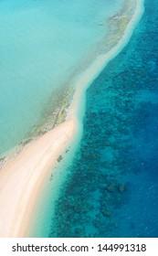 Tropical Island Aerial
