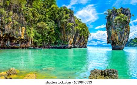 Phuket Thailand Insel Landschaft Naturlandschaft