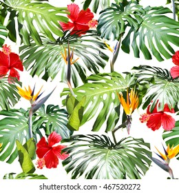 Colorful Tropical Pattern Stock Photos, Images & Photography