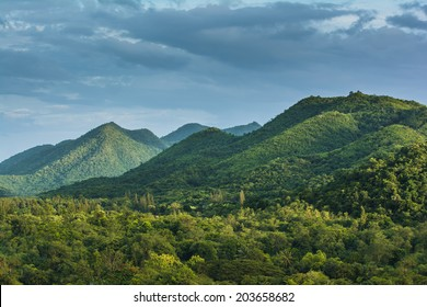 Tropical Mountain Range,This place is in the Kaeng Krachan national park,Thailand