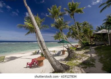 Tropical paradise. Guam, Mariana Islands