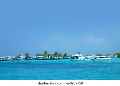 Tropical paradise in Male, Maldives