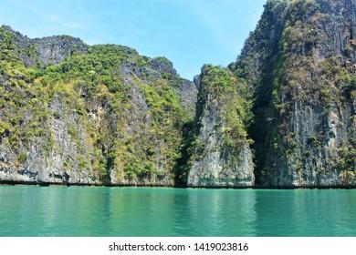 Tropical paradise, Phi Phi islands, Thailand, Asia
