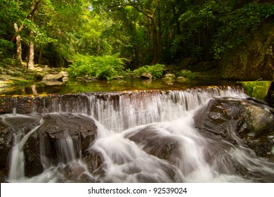 Tropical Rainforest Water Fall Queensland