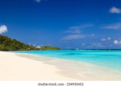 tropical sand beach, vacation concept
