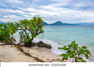 Tropical sea landscape, Papua New Guinea, near Rabaul