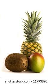 Tropical Trio - Pineapple, Mango and Coconut