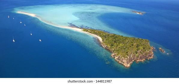 Tropical Whitsunday Island