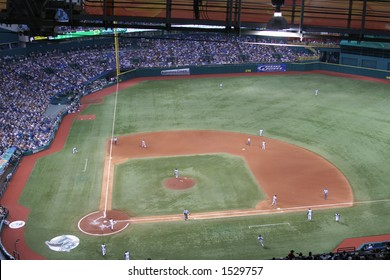 Tropicana Field, home of Tampa Bay Devil Rays