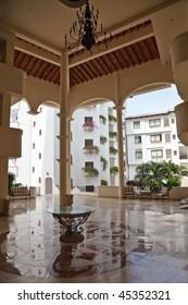 Tropicana hotel lobby, Puerto Vallarta, Mexico