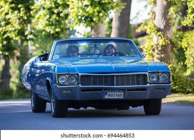 TROSA SWEDEN July 20 2017. Buick, year 1968.